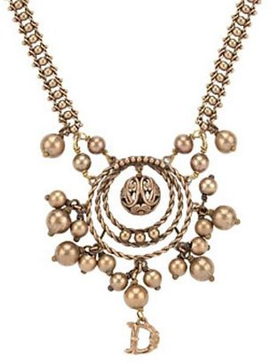 Christian Dior Ethnicity Small Pendant Necklace