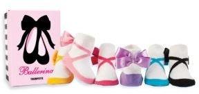 Trumpette Infant's Six-Piece Ballerina Sock Set