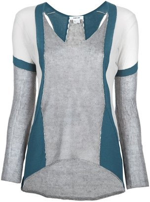 Helmut Lang 'Compact Borders' sweater