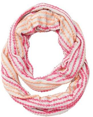 LOFT Sequin Stripe Infinity Loop Scarf
