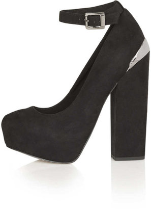 Topshop STOMP Ankle Platforms