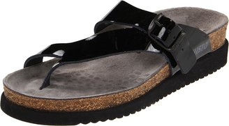 Mephisto Women's Helen Sandals Black Patent Leather 37 (US Women's 7)