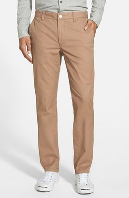 Men's Bonobos Tailored Fit Washed Chinos $88 thestylecure.com