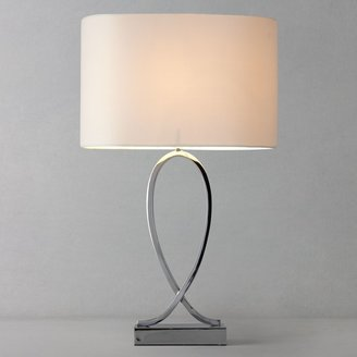John Lewis & Partners New Tom Table Touch Lamp, Chrome