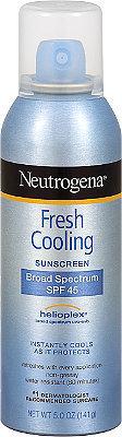 Neutrogena Fresh Cooling Body Mist Sunblock