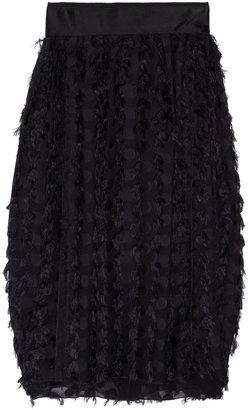 Dolce & Gabbana Printed silk-chiffon skirt