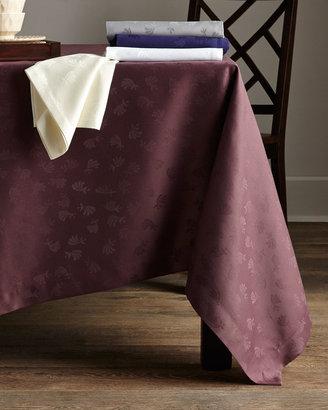 "Sferra SERR Round Fan Flower Tablecloth, 90""Dia."