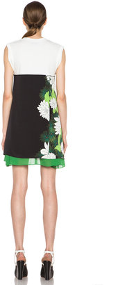3.1 Phillip Lim Tromploeil Layered Tee Dress in Black