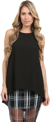 Elizabeth and James Everly Long Tank in Black
