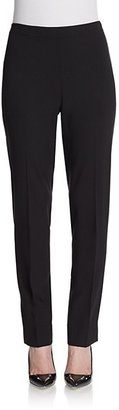Lafayette 148 New York Wool Straight-Leg Pants