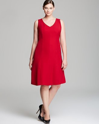 Jones New York Collection Plus Sleeveless Fit And Flare Dress