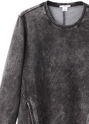Helmut Lang HELMUT acid wash sweat dress