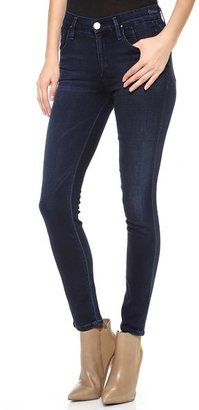 Gold Sign Virtual High Rise Jeans