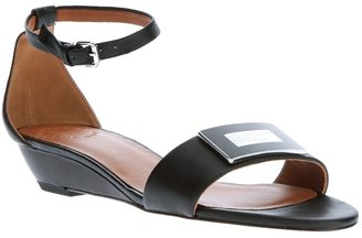 Marc by Marc Jacobs buckle wedge sandal