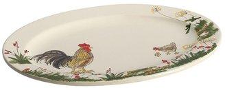 Paula Deen southern rooster oval platter