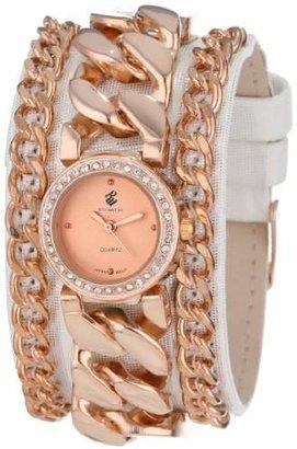 Rocawear Women's RL0116RG1-471 Stylish Bracelet Enamel Bezel Watch $75 thestylecure.com