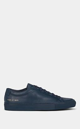 Common Projects Men's Achilles Leather Sneakers - Navy