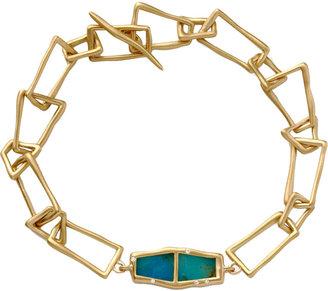 Monique Péan Opalina & Diamond Trapezoid Bracelet