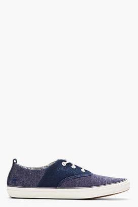 G Star G-STAR Blue Denim Stun Tanner Lace-Up Shoes