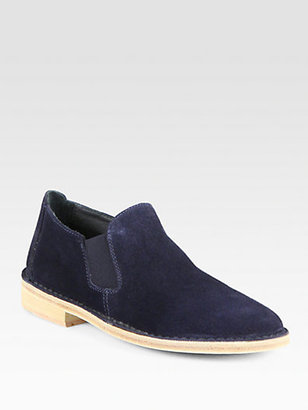 Vince Mia Suede Loafers