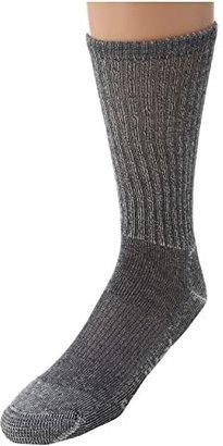 Smartwool Hiking Light Crew (Gray) Quarter Length Socks Shoes
