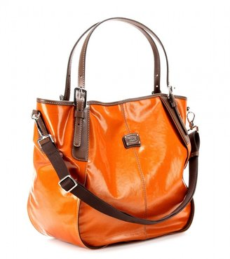 Tod's G-Line coated tote with leather handles