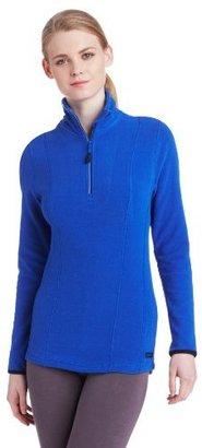 Calvin Klein Women's Micropolar Fleece Half Zip Pullover