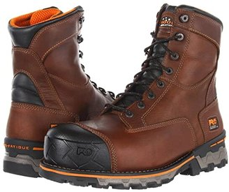 Timberland Boondock WP Insulated Comp Toe (Brown) Men's Work Boots