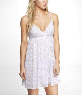Babydoll Burnout Dress
