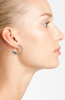 Orion 'Front to Back' Spiked Hoop Earrings