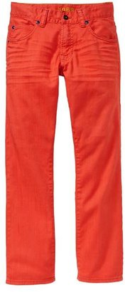 Gap 1969 Bright Orange Straight Jeans