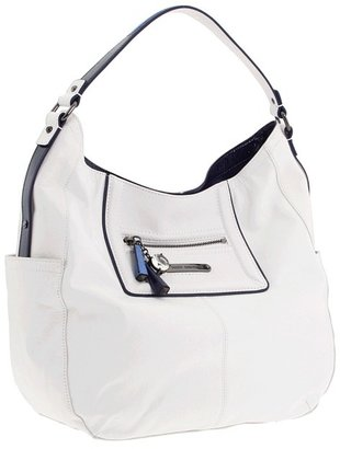 Juicy Couture Saturday Soiree - Pippa Hobo (Leather) (White Multi) - Bags and Luggage