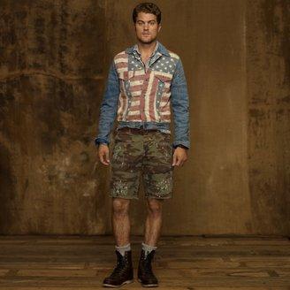 Denim & Supply Ralph Lauren Flag-Print Denim Jacket