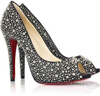 Christian Louboutin Studio 120 peep-toe pumps