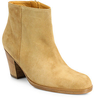 Saks Fifth Avenue 10022-SHOE Dayna Suede Ankle Boots