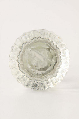 Anthropologie Notched Glass Knob