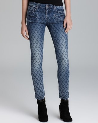 D-ID Jeans - NY Biker Skinny in Vintage Blue