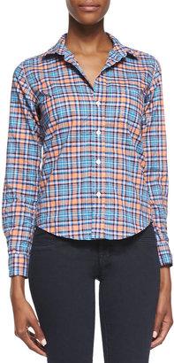 Frank & Eileen Barry Plaid Button-Down Shirt