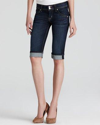 Hudson Shorts - Palerme Cuffed Knee in Stella