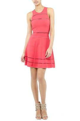 Nicole Miller Cody Fit and Flare Dress