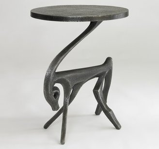 DwellStudio Gazelle Side Table - Black Iron