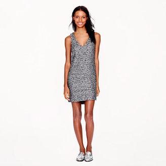 J.Crew Collection starlight tweed dress