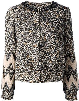 Tory Burch patterned jacket