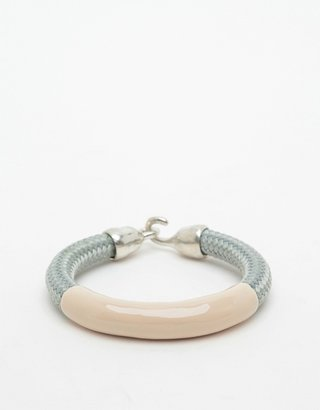 Orly Genger by Jaclyn Mayer Annabelle Bracelet in Grey & Tan