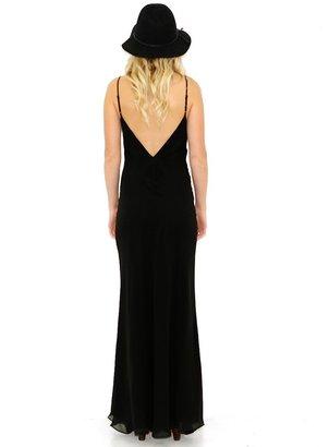Lovers & Friends Maybe Tomorrow Dress In Black