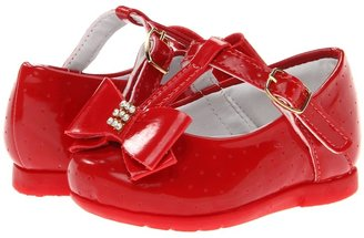 Pampili Angel 4693 (Infant/Toddler) (Red Fly 1) - Footwear