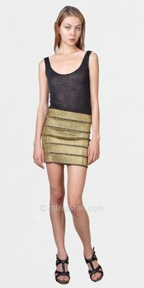 eDressMe Metallic Mini Skirts