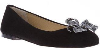 Dolce & Gabbana bow detail ballet pump