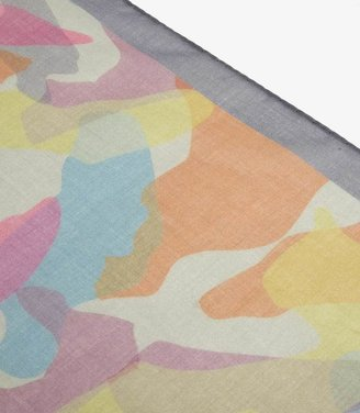 Reiss 1971 Tail CAMOUFLAGE PRINTED SCARF