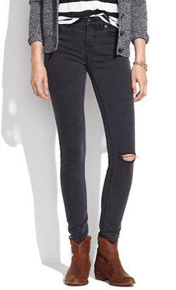 Madewell Skinny Skinny Jeans in Charcoal Wash